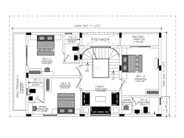Independent House Villa in Perumbakkam  Sq Ft BHK        BHK Independent House Villa for Sale in Zed Ria   Floor Plan