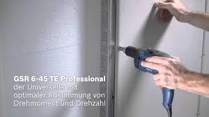 <b>GSR</b> 6-25 / <b>6-45</b> / 6-60 TE / <b>GSR 6-45</b> TE + MA 55 <b>Professional</b>