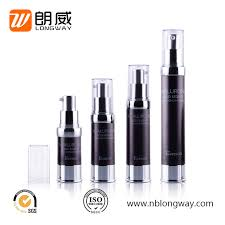 China <b>15ml 30ml 50ml</b> Black Empty Airless Lotion Pump Bottle with ...