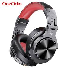 <b>Oneodio Fusion Professional Wired</b> Studio DJ Headphones + ...