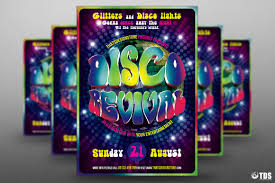 disco revival flyer template psd design for photoshop v  disco revival flyer template psd design for photoshop