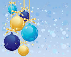 Image result for christmas blue & gold
