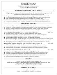 Sample Resume for administrative assistant office manager ... Sample Resume for administrative assistant office manager professional experience