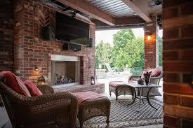 patio fireplace designs furniture