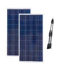 <b>TUV Solar Panel</b> 300W 24V Paniel Solar 12v 150w 2 Pcs Solar ...