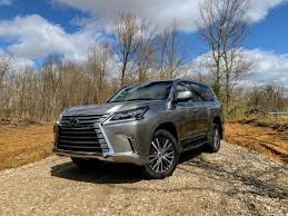 Review: The <b>Lexus LX</b> 570 is a serious off-road SUV that gives the ...