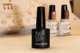 Обзор от покупателя на Базовый <b>гель SOLOMEYA Base Gel</b>, 8,5 ...