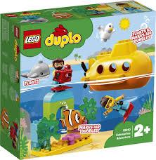 <b>Конструктор LEGO DUPLO</b> 10910 Путешествие субмарины ...