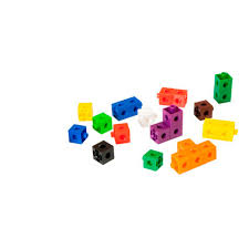 CUBES 2 CM <b>100 PIECES</b> - Miniland Educational