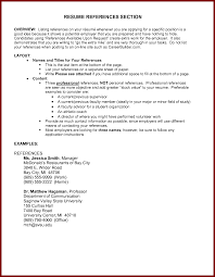 reference on resume