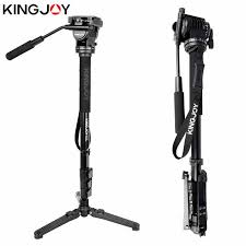 <b>Kingjoy MP208F</b> + <b>VT 1510</b> + <b>M3</b> профессиональный монопод ...
