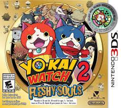 nintendo ds consoles ds games walmart yo kai watch 2 fleshy souls 3ds