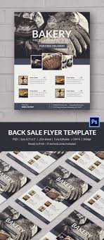 bake flyer template 24 psd indesign ai format beautiful bakery flyer