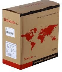 Купить <b>Telecom</b> UTP CAT5E Ultra TUS44148E 100м 24AWG/0.51 ...