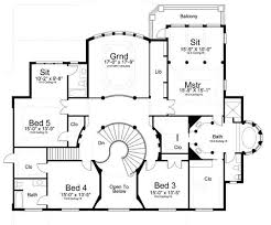 Vinius House Plans   Home Plans By Archival DesignsArchival Designs Luxury Plan Vinius Second Floor Plan