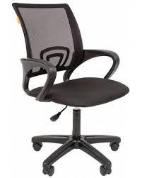 Купить черное <b>офисное кресло chairman 696 LT</b> (текстиль+сетка ...