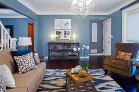 ideas living rooms soft blue