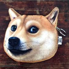<b>Hot Sale Funny</b> 3D Dog Face Coin Purse Vivid <b>Husky</b> Zipper Case ...