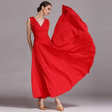 New 4 Color <b>Women Ballroom Dance Dress</b> Standard Ballroom ...
