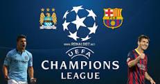 Hasil Pertandingan Liga Champions : Manchester City vs Barcelona ( 1 - 2)