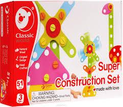 <b>Classic World Деревянный конструктор</b> Строим и играем с ...