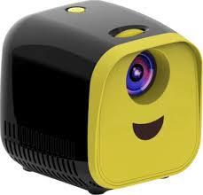 <b>L1</b> Projector <b>Mini</b> Home Kids Portable <b>LED Projector</b> 480P 2000LED ...