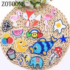 <b>ZOTOONE</b> Cute Panda Unicorn Flamingo Patch <b>Beauty</b> Planet ...
