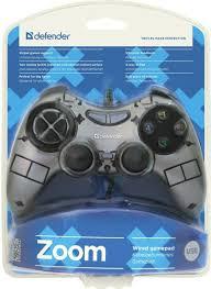 <b>Геймпад Defender Zoom USB</b> Xinput 1079370, черный — купить в ...