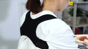 <b>Spine Protection Posture</b> Corrector Back Shoulder Correcting Belt ...