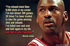 Michael Jordan staat wereldwijd bekend als de beste basketbalspeler aller tijden. Maar wist je dat Michael Jordan meer dan 9.000 shots miste tijdens zijn ... - Michael-Jordan