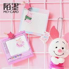 2019 <b>Kawaii</b> Bookmark Style Novel <b>Cute Pink Pig</b> Pattern <b>Diary</b> ...