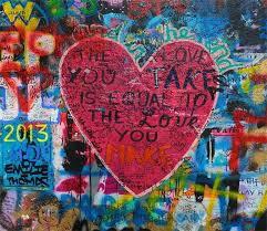 3D Heart Graffiti Painting 098 | After Juliet in 2019 | Graffiti painting ...