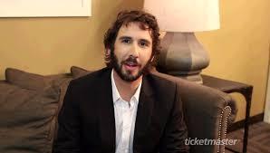josh groban interview videos ticketmaster insider exclusive interview josh groban video