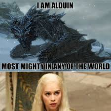 Alduin, Go Tidy Your Roo, Now by t3sku - Meme Center via Relatably.com