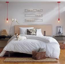 cool hanging bedside lamps bedside lighting ideas
