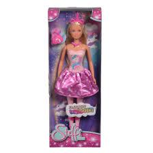 <b>Кукла Штеффи в розовом</b> платье