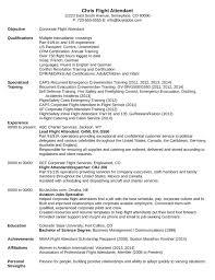 professional flight attendant resume templateprofessional flight attendant resume