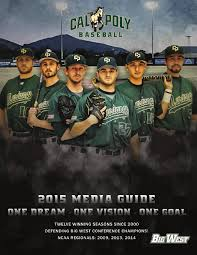 2015 Cal Poly Baseball Media Guide by Cal Poly Athletics