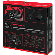 Купить <b>Вентилятор</b> 120x120 <b>Arctic Cooling</b> BioniX F120 Red ...