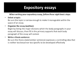 how to write a conclusion paragraph for an expository essay examples of expository essay topics