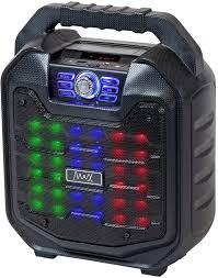 <b>Портативная</b> акустическая система <b>MAX MR</b>-<b>380</b>, черный ...