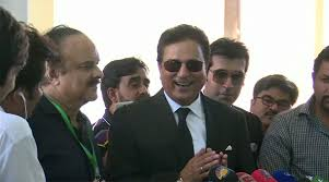 Image result for PTI Naeem Bukhari conference