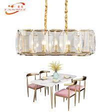 <b>Modern</b> Linear LED <b>Chandelier Crystal</b> Lamp Luxury K9 <b>Crystal</b> ...