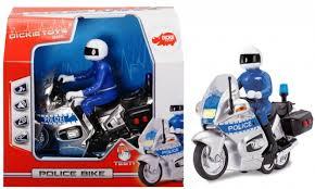 Полицейский <b>мотоцикл</b> фрикционный 15 см <b>Dickie</b> — купить в ...