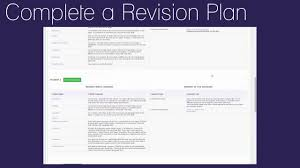 student l complete a revision plan student l complete a revision plan