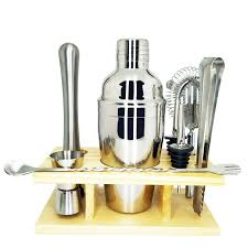 Bartender Mixology Kit, 2 <b>9 Piece Bar</b> Tool Set Cocktail Making Set ...