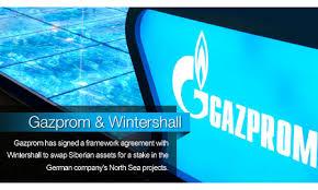 """Resultado de imagen de """"Gazprom"""" y """"Wintershall"""""""