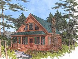 Driftwood Spring Cottage Home Plan D    House Plans and MoreVacation House Plan Front Image   D    House Plans and More
