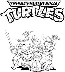 Small Picture TMNT Coloring Pages LineArt TMNT Pinterest TMNT and Ninja