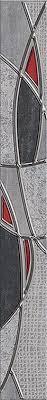 <b>Бордюр PANDORA GREY</b> CHARM 7.5x63